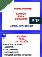 equipos para detección de gases