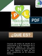 Presentación orientacion. PNL 2
