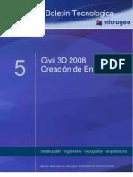 Boletin Nº5 Creacion de Ensanches, Civil 3D