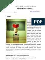 LITERATURA INFANTIL AUXILIO NO PROCESSO DE ALFABETIZAÇÃO E LETRAMENTO