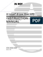 FCD Manual-Milroyal B Low Flow HPD -3390059000