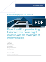 26 Basel III and European Banking