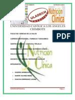 Soporte Nutricional en Pacientes Oncologicos