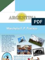 Argentina- Marchylia Pratikto 11D Tech. III Project Presentation