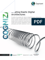 Creating Elastic Digital Architectures