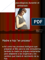 Cambios psicológicos en el embarazo