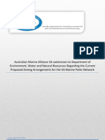 Brief Report on the Marine Parks Process Amasa Submission Detailing a Commonsense Cost Effective Approach to Implementing