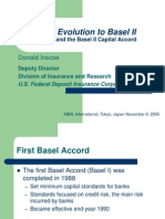 Evolution to Basel II(FDIC)