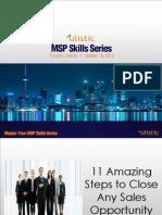 The 11 Step MSP Sales Process