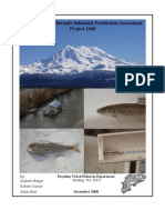 Puyallup Tribe of Indians Smolt Trap Report 2008