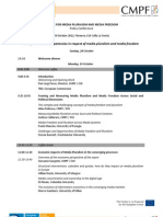 Policy Conference Program