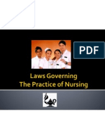 Laws Governing the Practice of Nursing