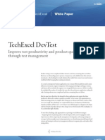 Software Testing and Test Case Management