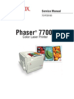 Phaser 7700 Service Manual
