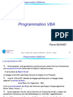 Cours VBA Evenements