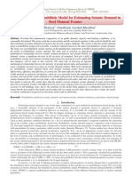 Choosing the Best Probabilistic Model for Estimating Seismic Demand in  Steel Moment Frames