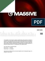 Massive 1.1.4 Manual Addendum English