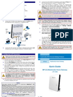 LTRT-18603 MP-252 Multimedia Home Gateway Quick Guide
