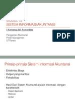 Pertemuan 7 Modul 12 Sistem Informasi Akuntansi