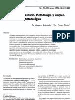Examen coproparasitario. Metodología y empleo.