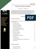 The Complete Sherlock Holmes eBooks