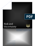 Makalah Risk n Uncertainty