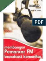 Membangun Pemancar FM Komunitas Onno