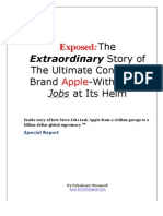The Extraordinary Story of The Ultimate Consumer Brand Apple-With Steve Jobs at It's Helm