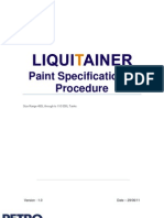 LIQUITAINER Paint Specification