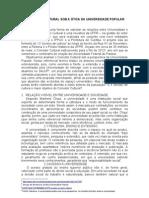 Artigo Folha Acadêmica - Corredor Cultural sob a ótica da universidade popular