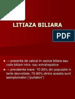 Curs 14- Vezica Biliara