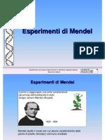 10 Esperimenti Di Mendel genetica agraria uniss
