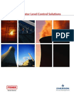 Fisher Deaerator Level Control Solutions Application Brochure