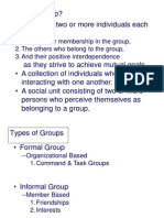 Group Formation