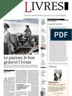 Supplément Le Monde des livres 2012.10.19