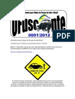 OFuscante - Informativo Para Clubes de Fusca de Todo Brasil - 0001-2012