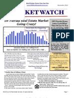 Market Watch Newsletter November 2012