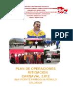 Plan Operacione Carnaval 2010