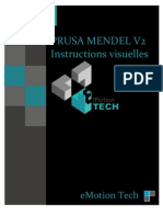 Prusa Mendel V21 Visual Instructions FRENCH