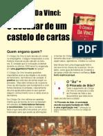 O Código Da Vinci - Um Castelo de Cartas