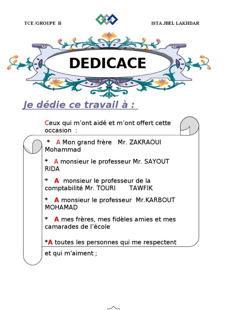 Raport de stage toto - Rapport de stage dans un cabinet comptable ...