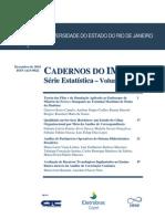 Cadernos Do IME - Serie Estatistica Vol 29