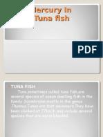 Mercury in Tuna Fish