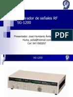 Generador de señales RF SG-1200