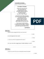 Latest SPM Poems-Practices (Q_A)