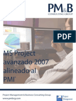 Brochure MS Project Avanzado 2007