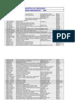 4.- Inventario de Libros de La Facultad 2009 II