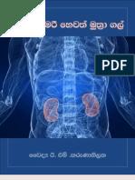 මුත්රා අශ්මරී හෙවත් මුත්රා ගල් - Kidney Stones