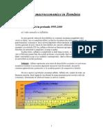 Evolutii Macroeconomice in Romania.docfeab2.Doc81134