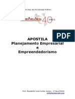 Apostila - Planejamento Empresarial e Empreendedorismo